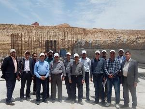بازدید هیات مدیره شرکت پیام هونامیک از سایت کارخانه فروسیلیس (شهرک صنعتی خمین) (مرداد ماه 1395)